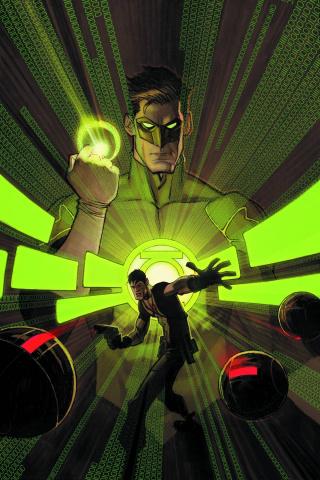 Grayson #12 (Green Lantern 75th Anniversary Cover)