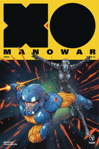 X-O Manowar #24 (Rocafort Cover)