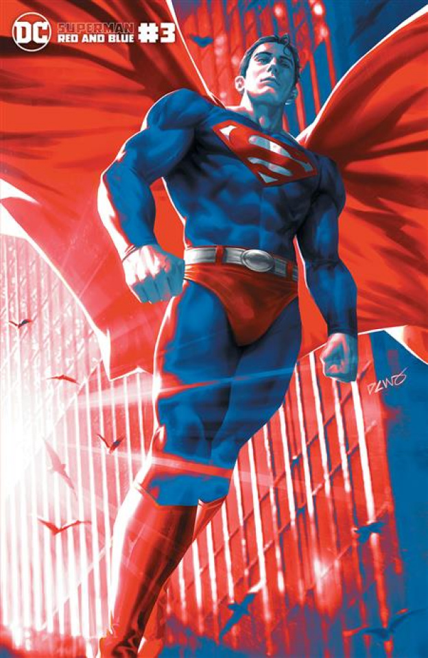Superman: Red and Blue #3 (Derrick Chew Cover)