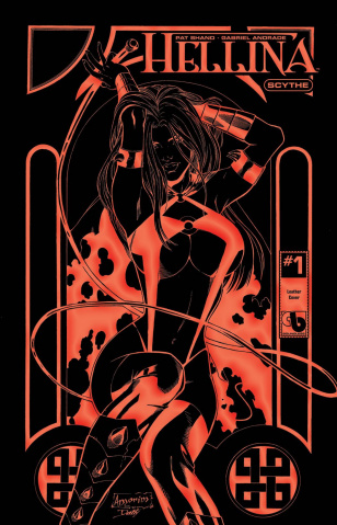 Hellina: Scythe #1 (Black Leather Cover)