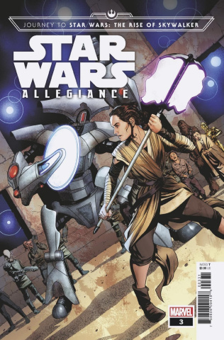 Journey to Star Wars: The Rise of Skywalker - Allegiance #3 (McKone Cover)