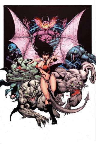 Vengeance of Vampirella #12 (15 Copy Castro Virgin Cover)