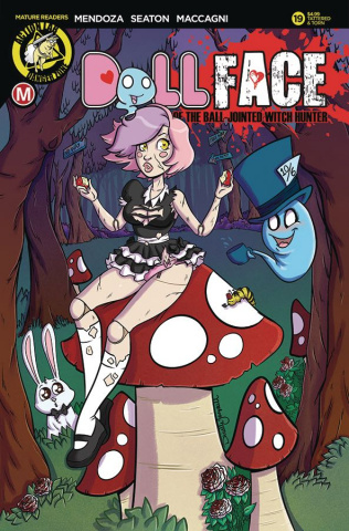 Dollface #19 (Gransaull Pin-Up Tattered & Torn Cover)