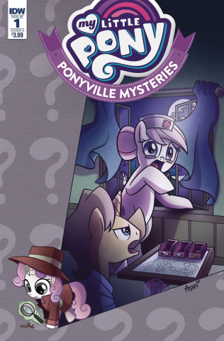 My Little Pony: Ponyville Mysteries #1 (Garbowska Cover)