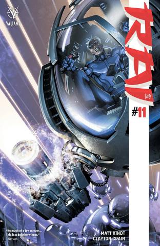 Rai #11 (Interlocking Crain Cover)