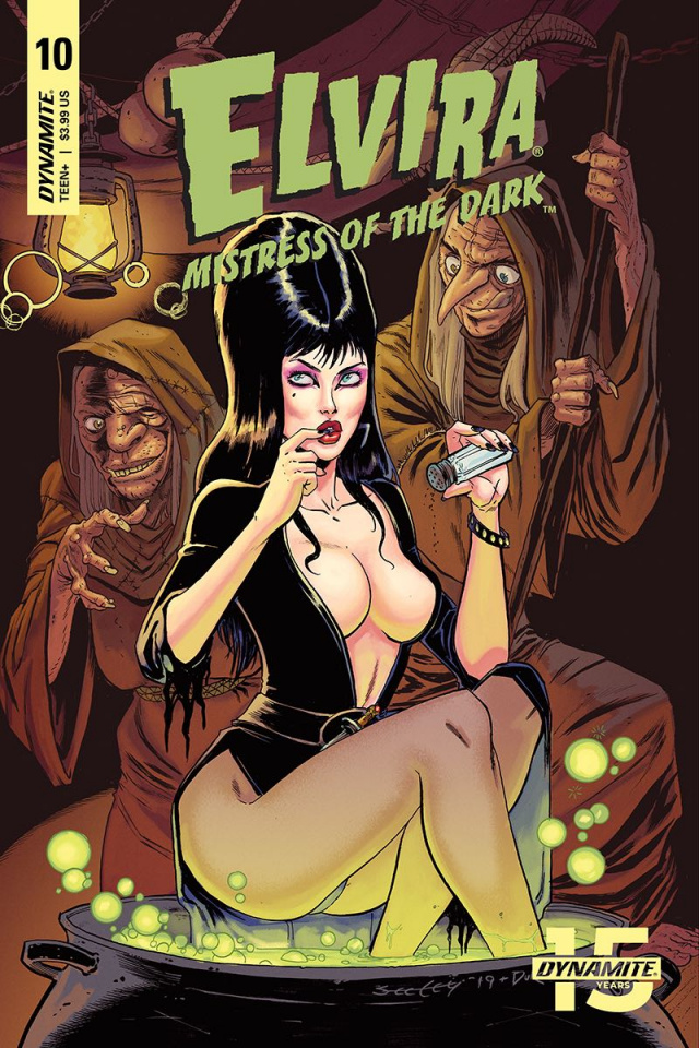 Elvira: Mistress of the Dark #10 (Seeley Cover)