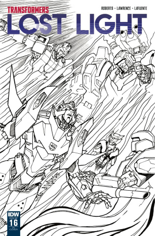 The Transformers: Lost Light #16 (10 Copy Cover)