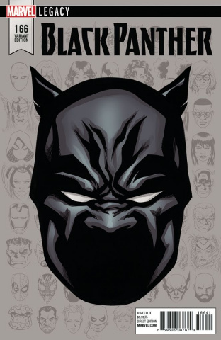 Black Panther #166 (McKone Legacy Headshot Cover)