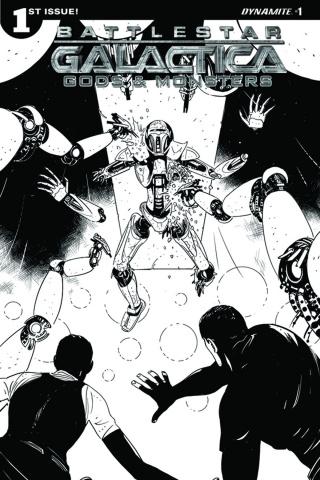 Battlestar Galactica: Gods & Monsters #1 (10 Copy Cover)