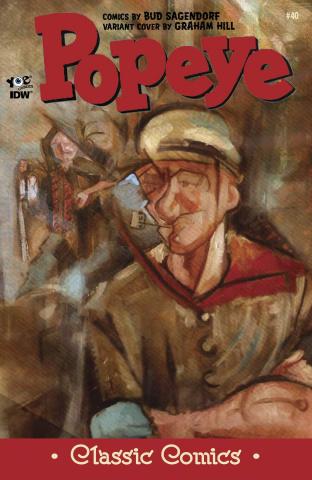 Popeye Classics #40 (10 Copy Cover)