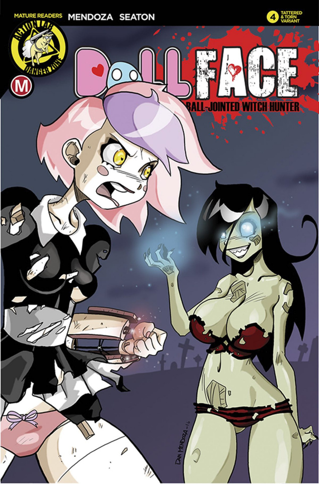 Dollface #4 (Mendoza Tattered & Torn Cover)