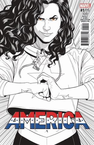 America #1 (2nd Printing McKelvie Cover)
