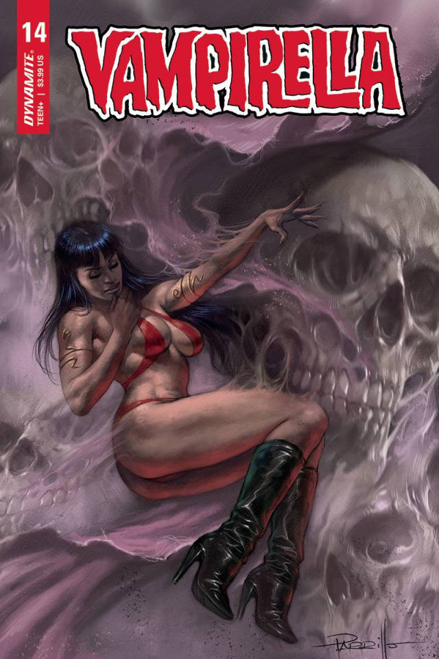 Vampirella #14 (Parrillo Cover)