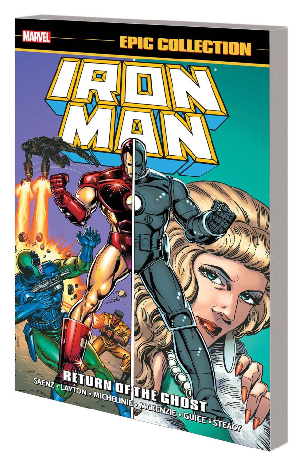 Iron Man: Return of the Ghost (Epic Collection)