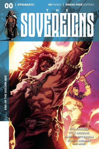 The Sovereigns #0 (50 Copy Tan Sneak Peek Cover)