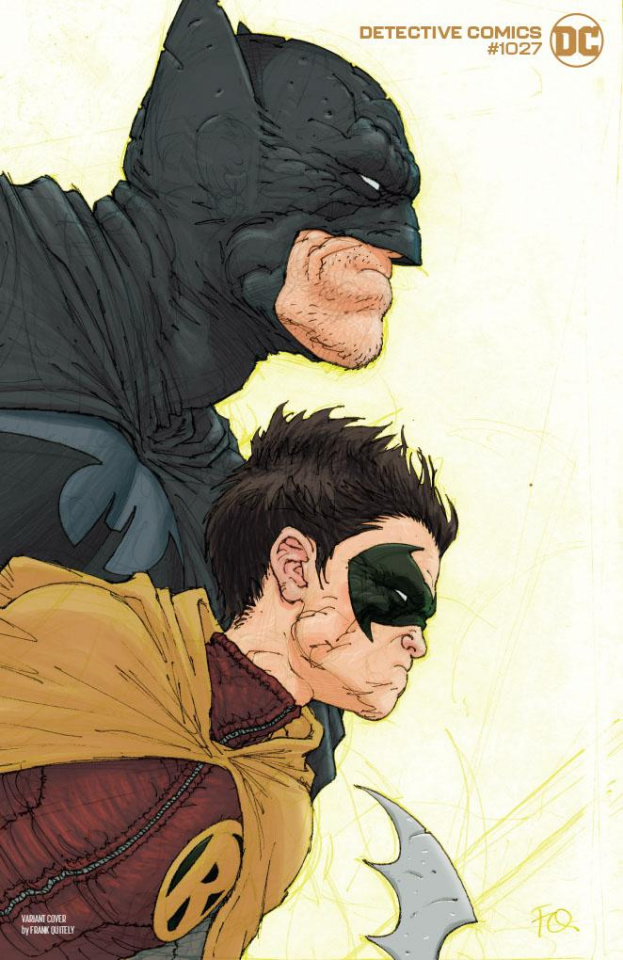 Detective Comics #1027 (Frank Quitely Batman Robin Cover)