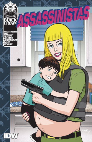 Assassinistas #5 (Rugg Cover)