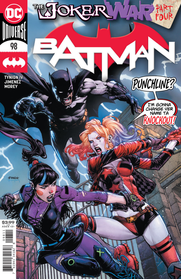 Batman #98 (David Finch Cover)