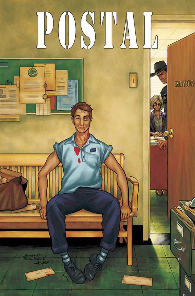 Postal #12 (Goodhart Cover)