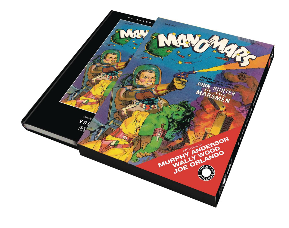 Classics Science Fiction Comics Vol. 1 (Slipcase Edition)
