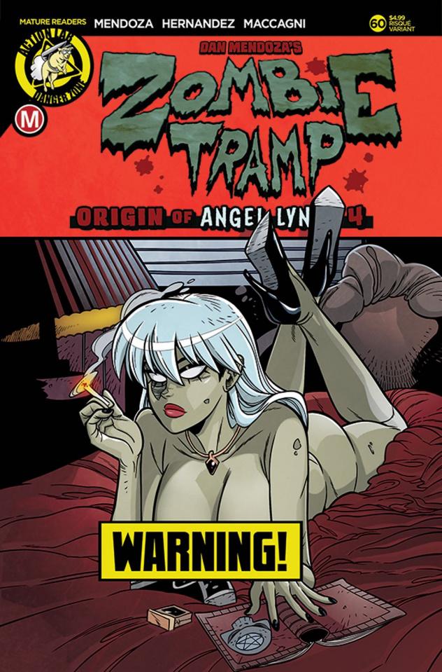 Zombie Tramp #60 (Maccagni Risque Cover)