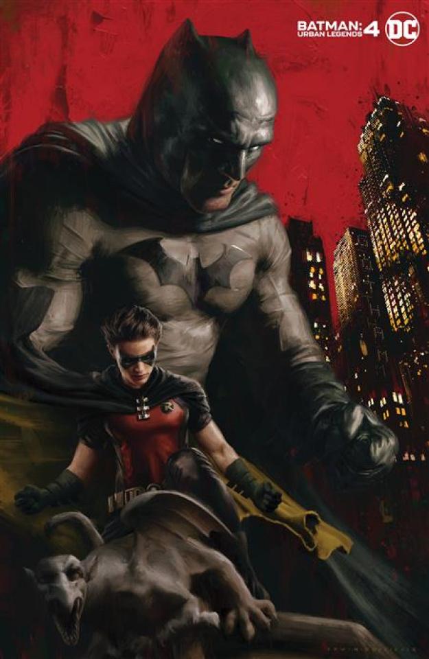 Batman: Urban Legends #4 (Irvin Rodriguez Cover)