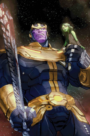 Thanos #1 (Parel Cover)