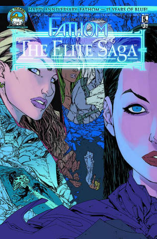 Fathom: The Elite Saga #5 (Caldwell Cover)
