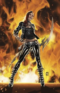 Grimm Fairy Tales: Hellchild #1 (Krome Cover)