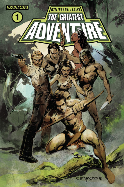 The Greatest Adventure #1 (Nord Cover)