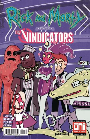 Rick and Morty Presents the Vindicators #1 (Cover B)