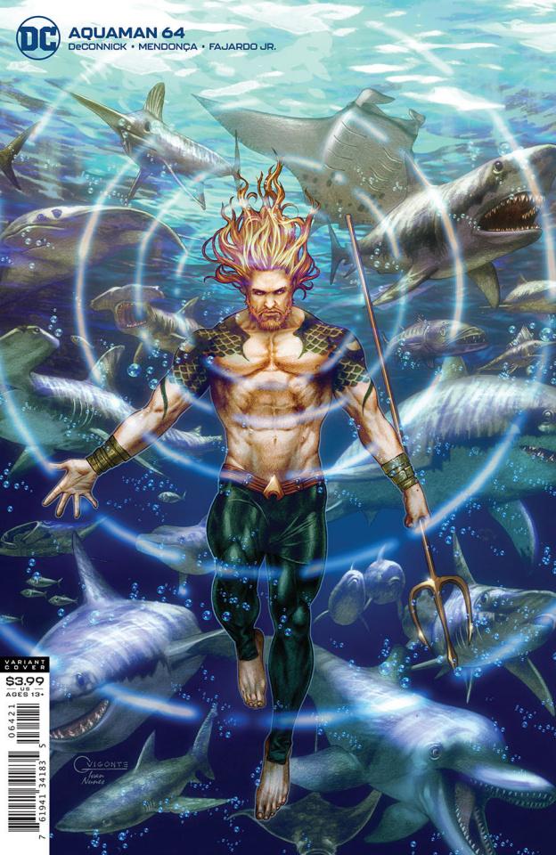 Aquaman #64 (Gilbert Vigonte Cover)
