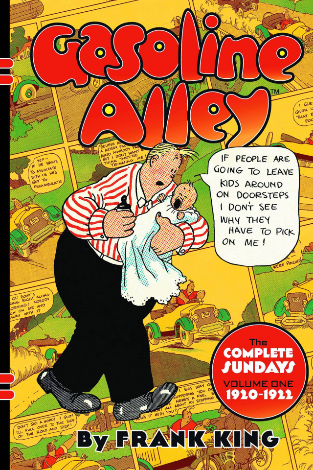 Gasoline Alley Vol. 1: The Complete Sundays, 1920-1922