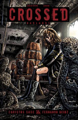Crossed: Badlands #95 (Torture Cover)