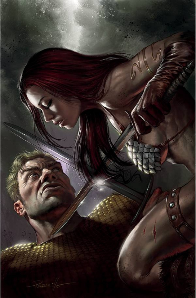 Red Sonja: The Superpowers #4 (Parrillo Virgin Cover)
