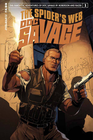 Doc Savage: The Spider's Web #1 (Laming Subscription Cover)