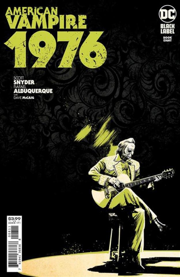 American Vampire: 1976 #8 (Rafael Albuquerque Cover)