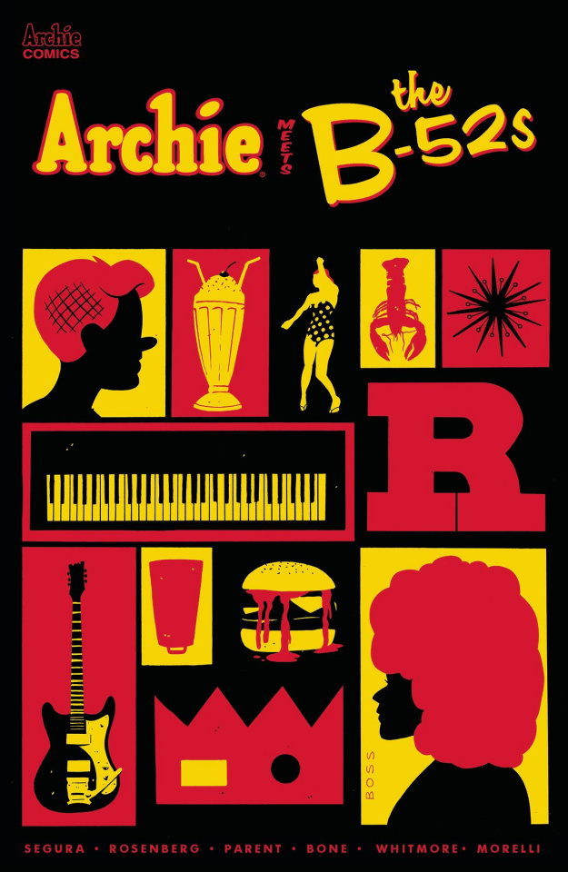 Archie Meets the B-52s #1 (Boss Cover)