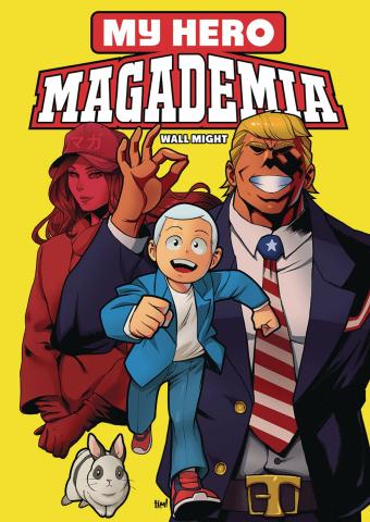 My Hero Magademia: Wall Might