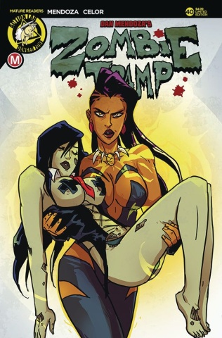 Zombie Tramp #40 (Besties Cover)