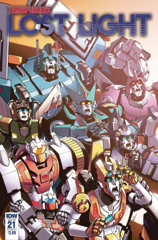 The Transformers: Lost Light #21 (Lawrence Cover)