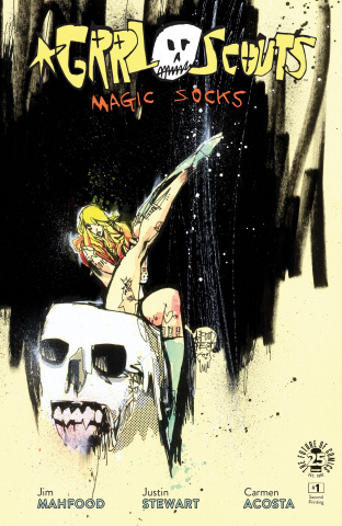 Grrl Scouts: Magic Socks #1 (2nd Printing)