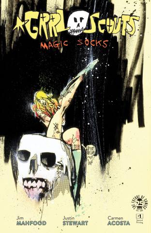 Grrl Scouts: Magic Socks #1 (2nd Printing)