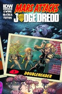 Mars Attacks Judge Dredd #3 (Subscription Cover)
