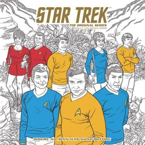 Star Trek: The Original Series Adult Coloring Book Vol. 2