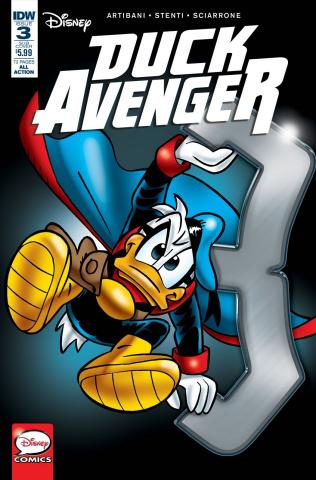 Duck Avenger #3 (Subscription Cover)