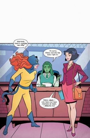 Patsy Walker, a.k.a. Hellcat #5