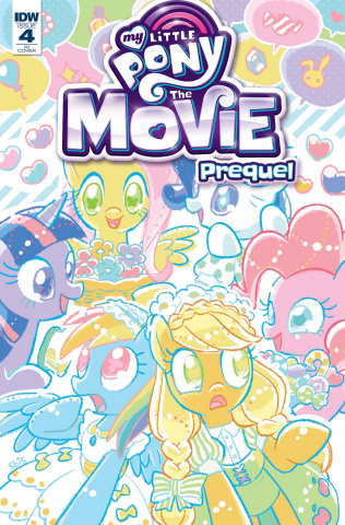 My Little Pony: The Movie Prequel #4 (10 Copy Cover)