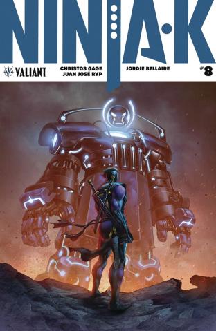 Ninja-K #8 (Quah Cover)