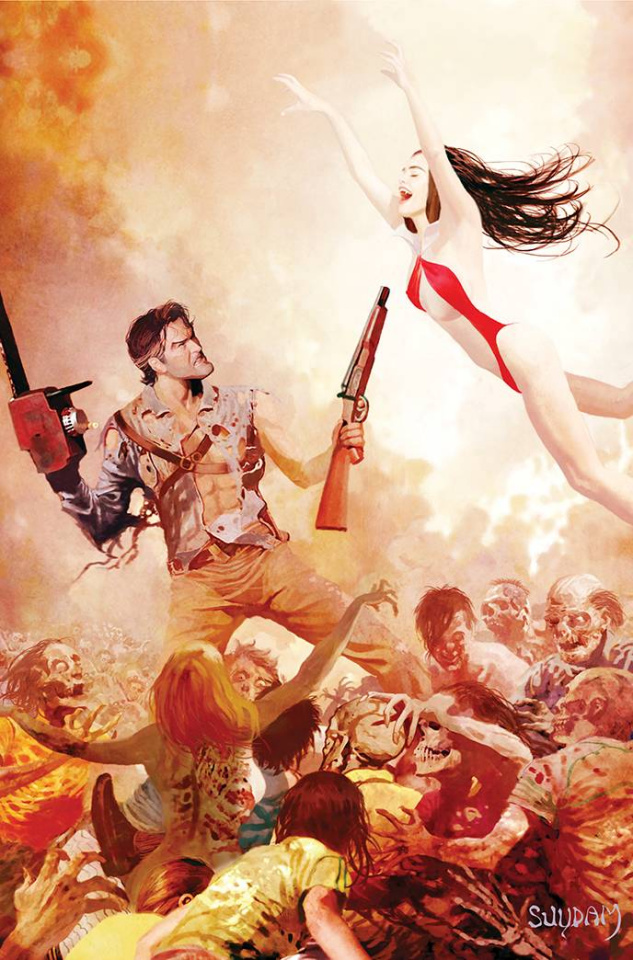 DIE!namite Lives! #1 (Elite Ed Suydam Non-Zombie Virgin Cover)